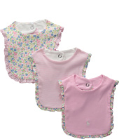 Ralph Lauren Baby - Printed 1x1 Rib Bib Set (Infant)