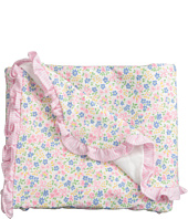 Ralph Lauren Baby - Printed 1x1 Rib Floral Blanket (Infant)