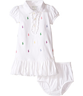 Ralph Lauren Baby - Interlock Schiffli Dress (Infant)