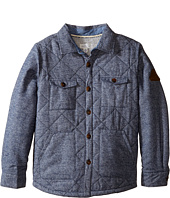 Pumpkin Patch Kids - Padded Shirt Jacket (Little Kids/Big Kids)