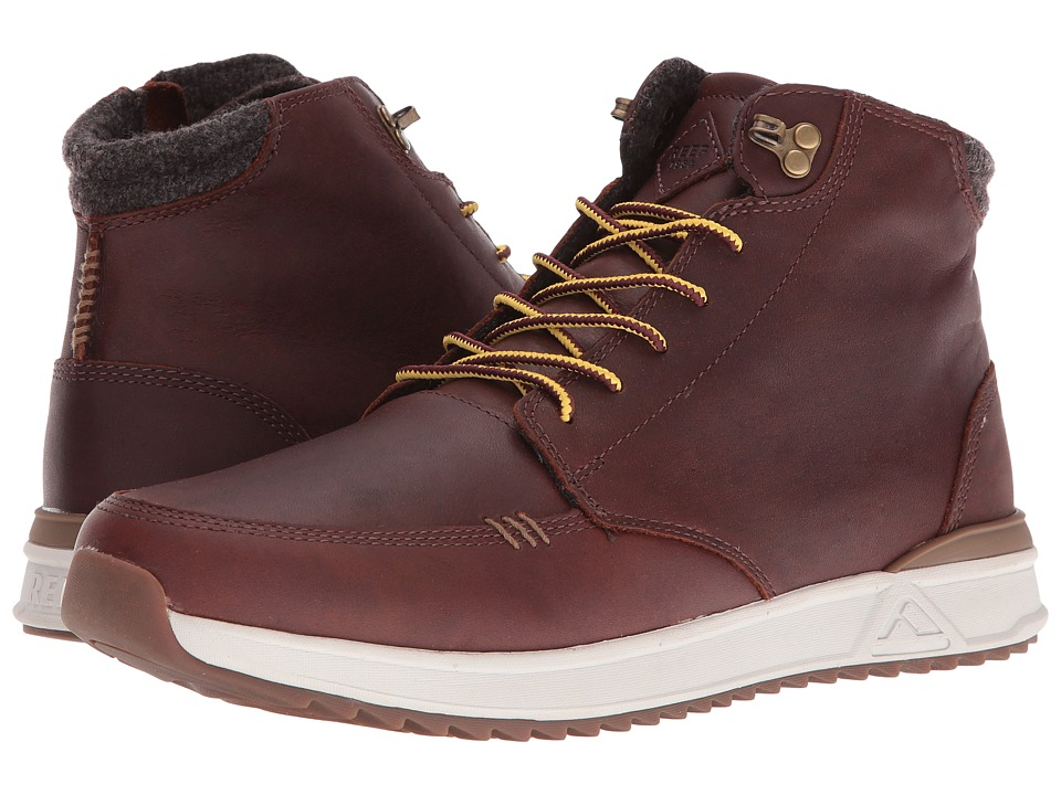 Reef Rover Hi Boot (Brown) Men's Lace-up Boots
