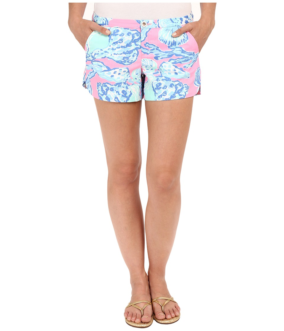 Lilly Pulitzer Adie Shorts Pink Pout Barefoot Princess Womens Shorts