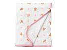 Ralph Lauren Baby Printed Interlock Bear Blanket (Infant)
