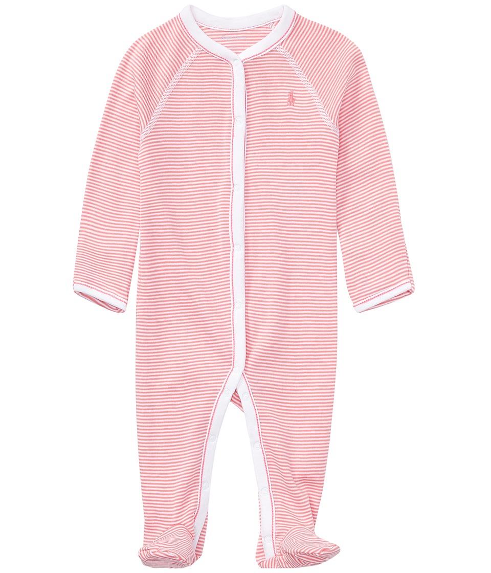 Ralph Lauren Baby - BSR Yarn-Dyed Stripe One-Piece Coveralls