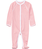 Ralph Lauren Baby - BSR Yarn-Dyed Stripe One-Piece Coveralls (Infant)