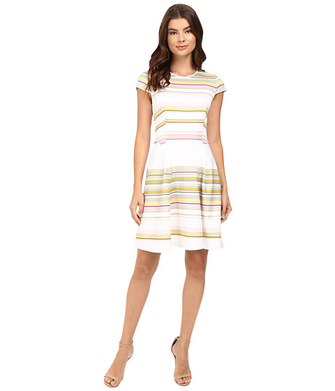 Ted Baker Aquai Carousel Stripe Skater Dress