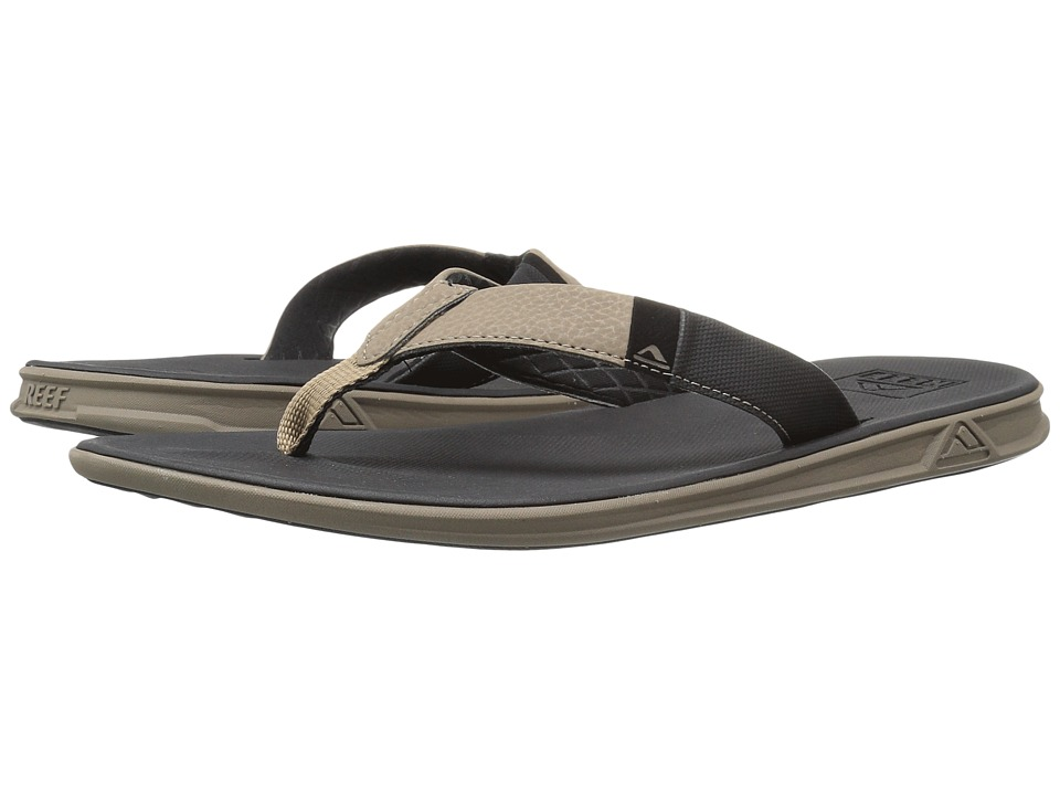 Reef Slammed Rover (Black/Tan) Men