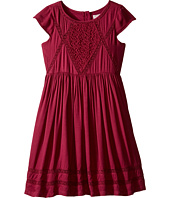 Pumpkin Patch Kids - Coco Lace Trim Dress (Little Kids/Big Kids)