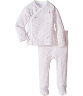 Ralph Lauren Baby - Printed Interlock Kimono Two-Piece Pants Set (Infant)