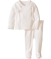 Ralph Lauren Baby - Interlock Solid Kimono Two-Piece Pants Set (Infant)