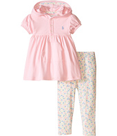 Ralph Lauren Baby - Interlock Hoodie Legging Pants Set (Infant)