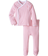 Ralph Lauren Baby - Yarn-Dyed Stripe Kimono Two-Piece Pants Set (Infant)
