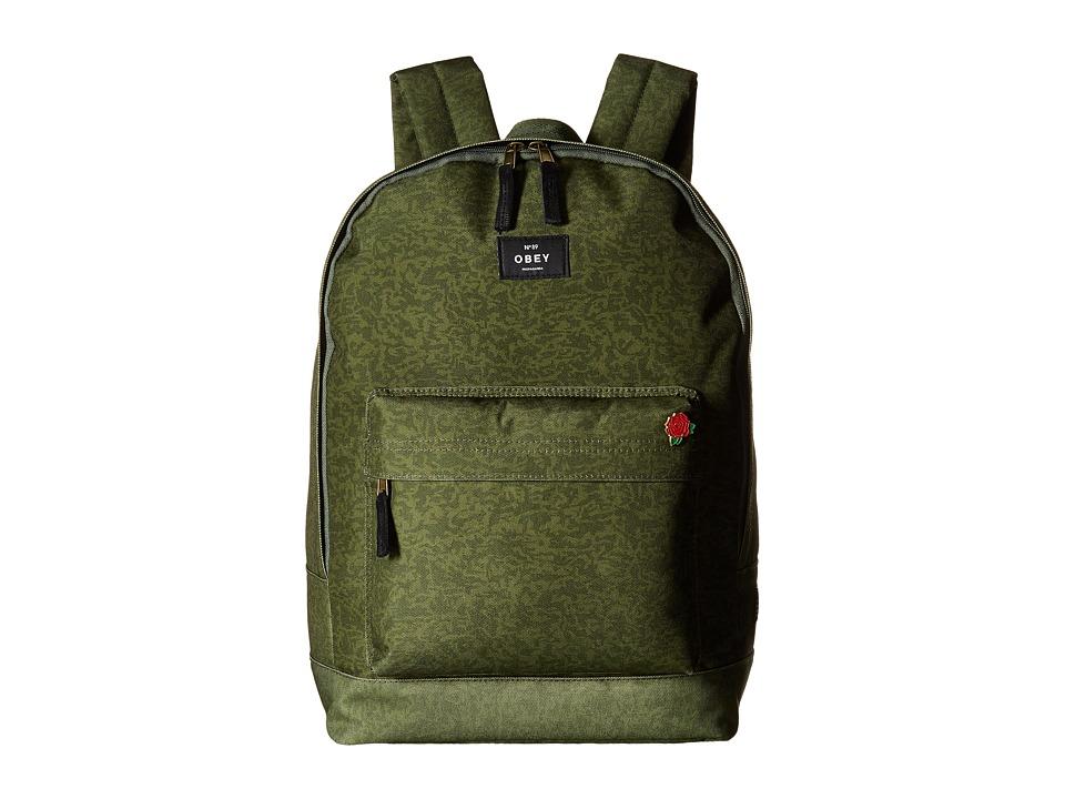 Obey - Javor Backpack (Camo) Backpack Bags