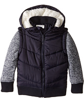 Pumpkin Patch Kids - Knit Sleeve Puffer Jacket (Infant/Toddler/Little Kids/Big Kids)