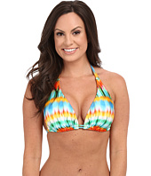 Luli Fama - Ocean Whispers D/DD Cup Triangle Halter Top