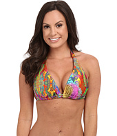 Luli Fama - Barefoot & Free D/DD Cup Triangle Halter Top