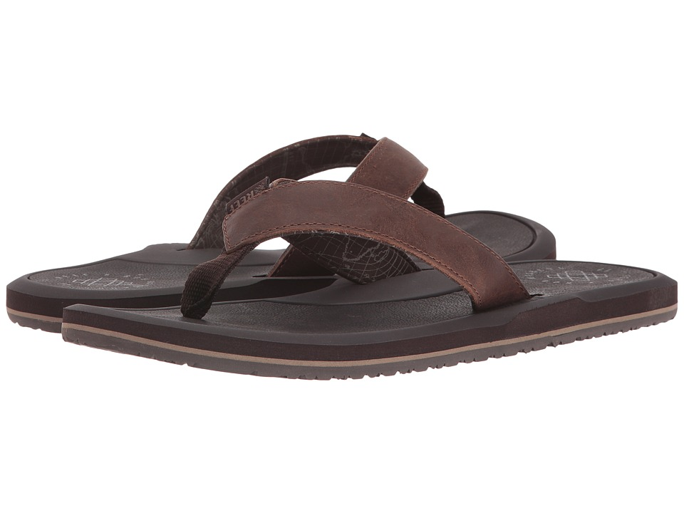 Reef - Machado Night (Brown) Men's Sandals