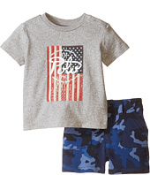 Ralph Lauren Baby - Jersey Camo Short Set (Infant)
