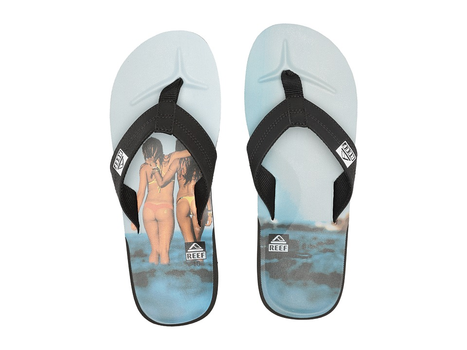 Reef HT Prints (Reef Girl Grey) Men