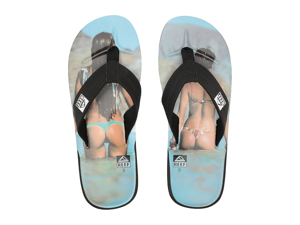 Reef HT Prints (Reef Girl Aqua) Men