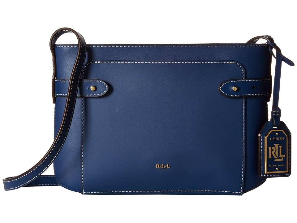 LAUREN Ralph Lauren - Jacqueline Crossbody (Washed Indigo) Cross Body Handbags
