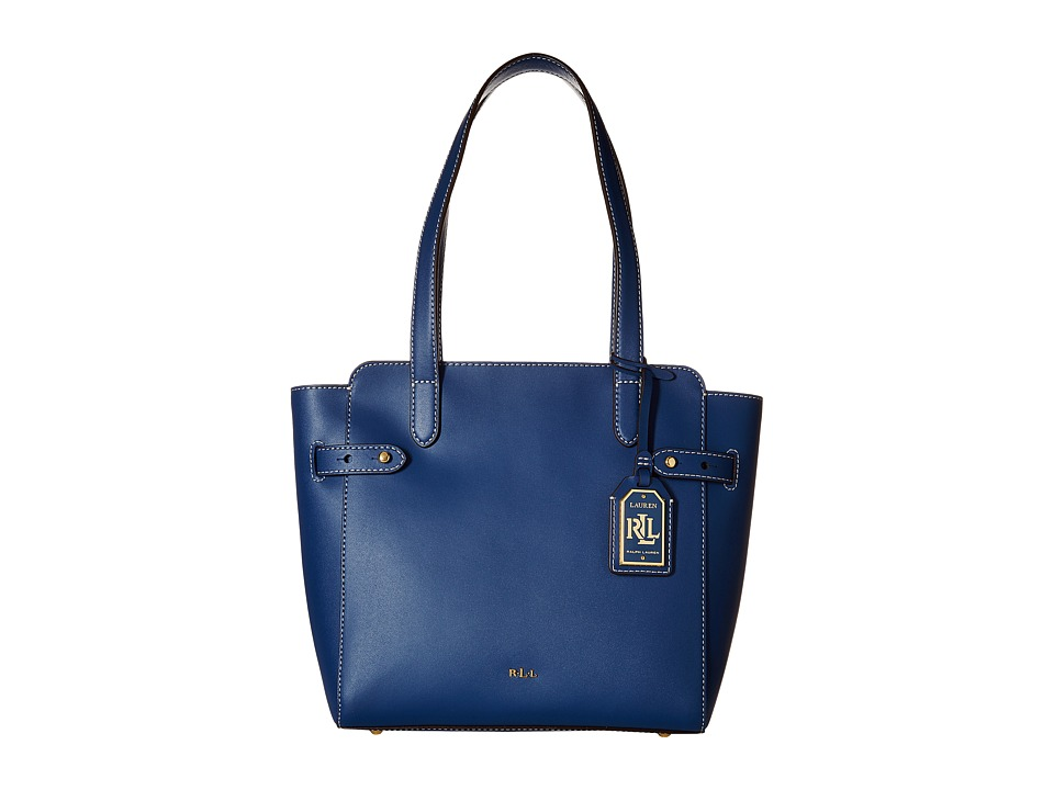 LAUREN Ralph Lauren - Nara Shopper (Washed Indigo) Handbags