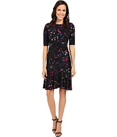 Ellen Tracy - Flounce Hem Dress