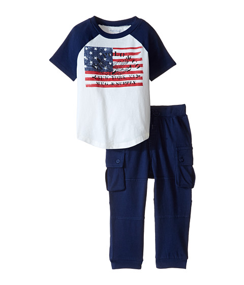 Ralph Lauren Baby Jersey Cargo Pants Set (Infant)