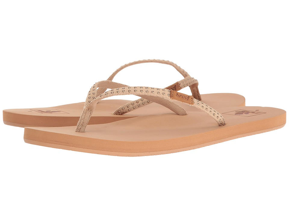 Reef Slim Ginger Stud (Tan) Women