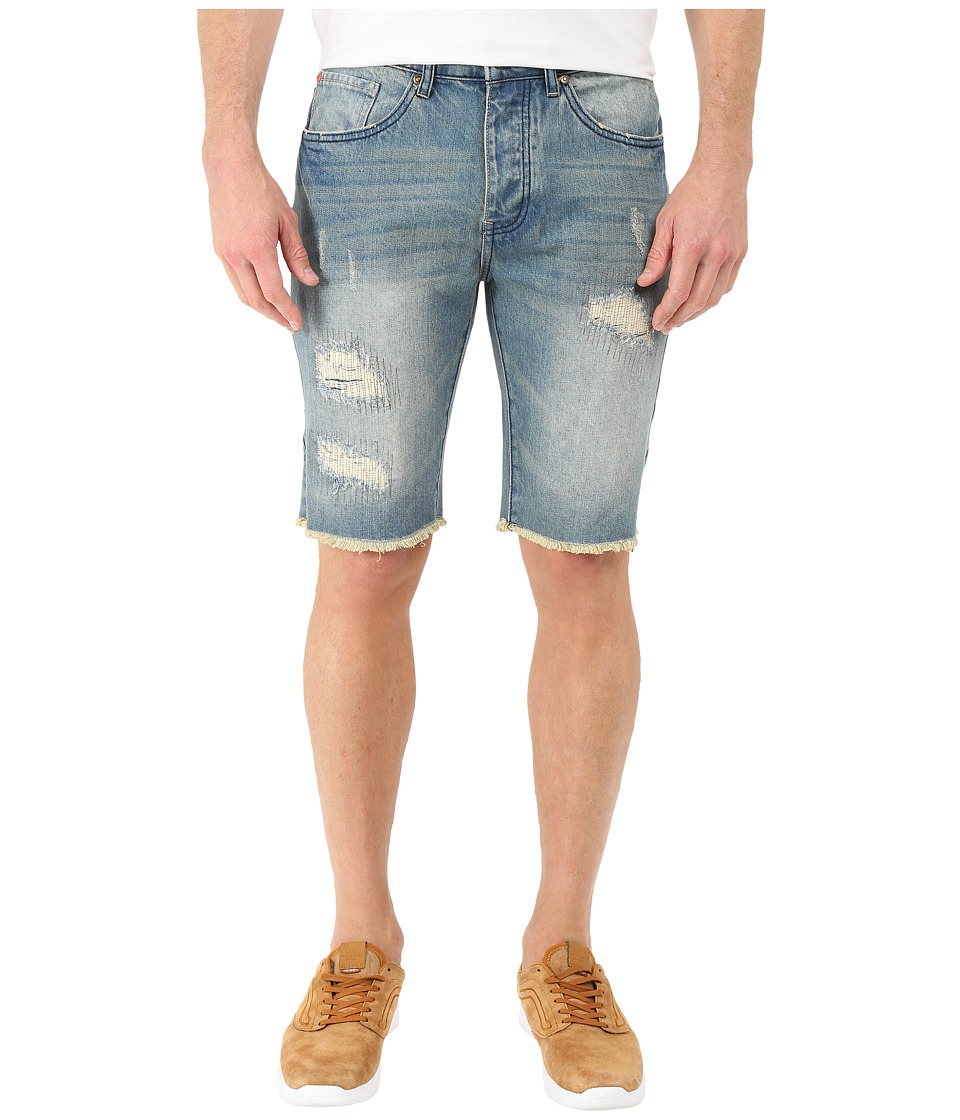 Staple Jean Shorts Medium Stone Wash Mens Shorts
