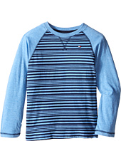 Tommy Hilfiger Kids - Alexa Stripe Jersey Long Sleeve Tee (Toddler/Little Kids)