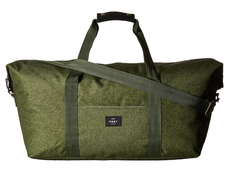 Obey - Javor Weekender (Camo) Weekender/Overnight Luggage