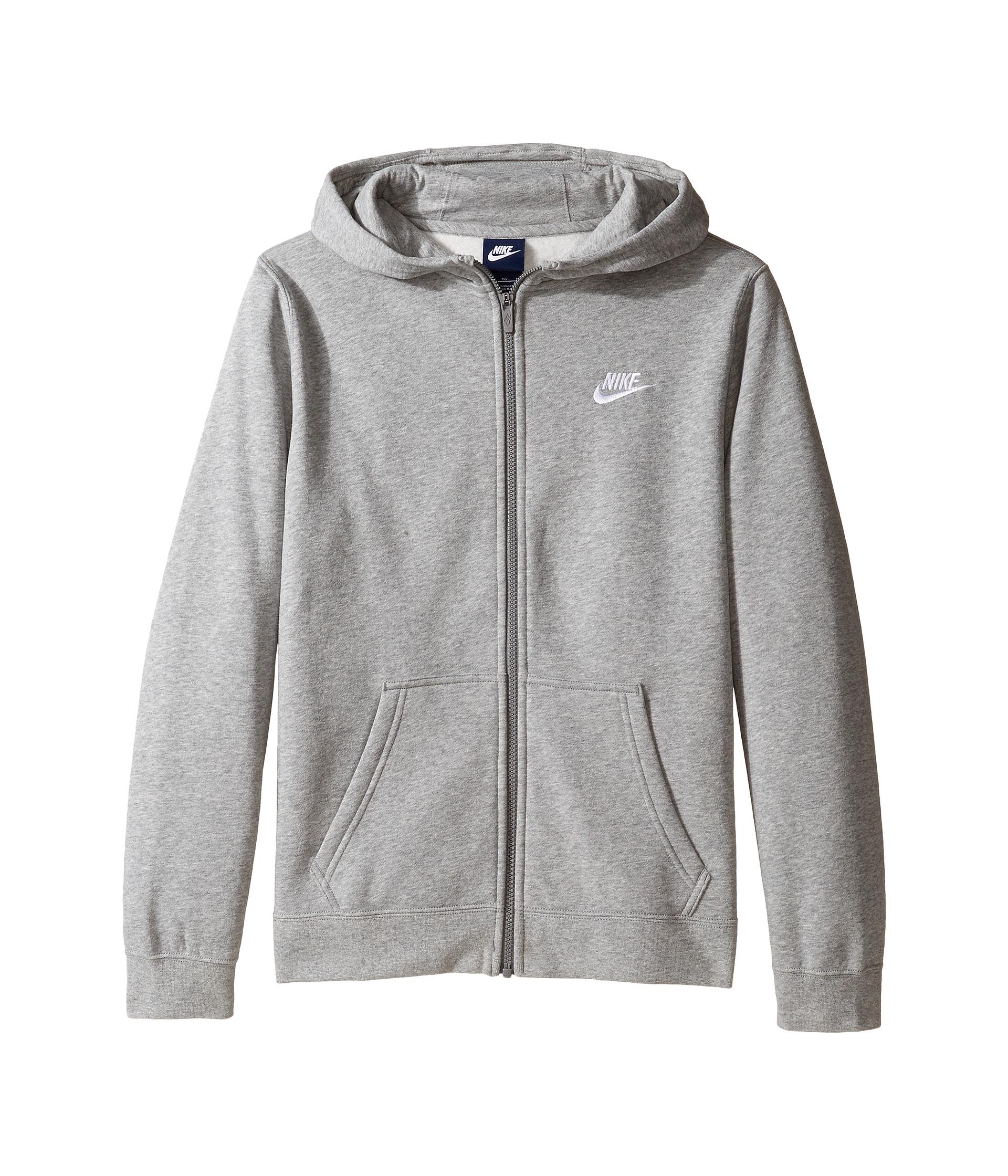 Nike Kids Sportswear Club Hoodie (Little Kids/Big Kids) at ...
