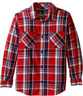 Tommy Hilfiger Kids - Jazz Long Sleeve Shirt (Toddler/Little Kids)