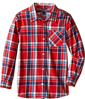 Tommy Hilfiger Kids - Jazz Flannel Shirt (Toddler/Little Kids)
