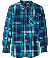 Tommy Hilfiger Kids - Larson Flannel Shirt (Big Kids)