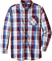 Tommy Hilfiger Kids - Morgan Woven Long Sleeve Shirt (Big Kids)