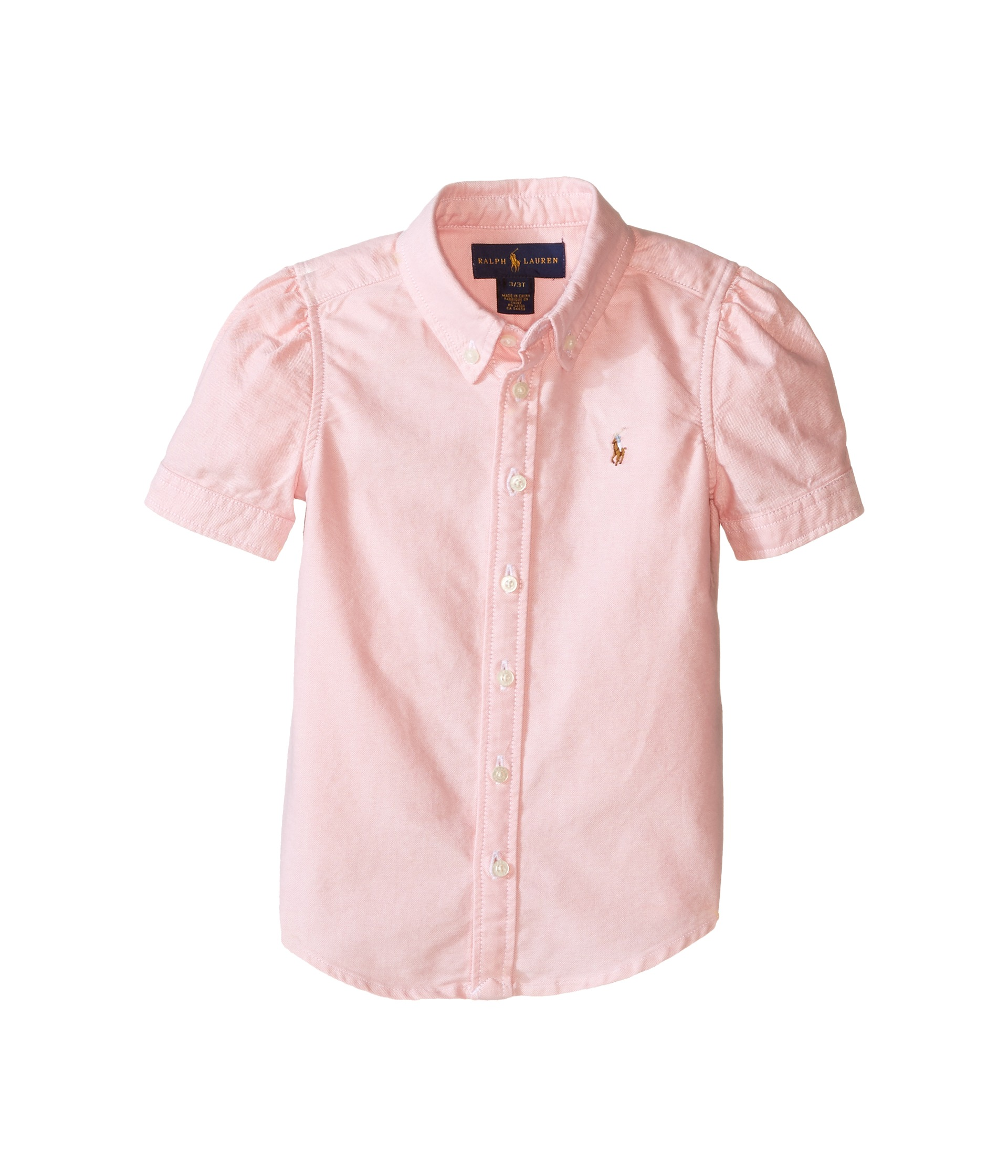 Polo ralph lauren kids classic solid oxford shirt toddler for Ralph lauren kids