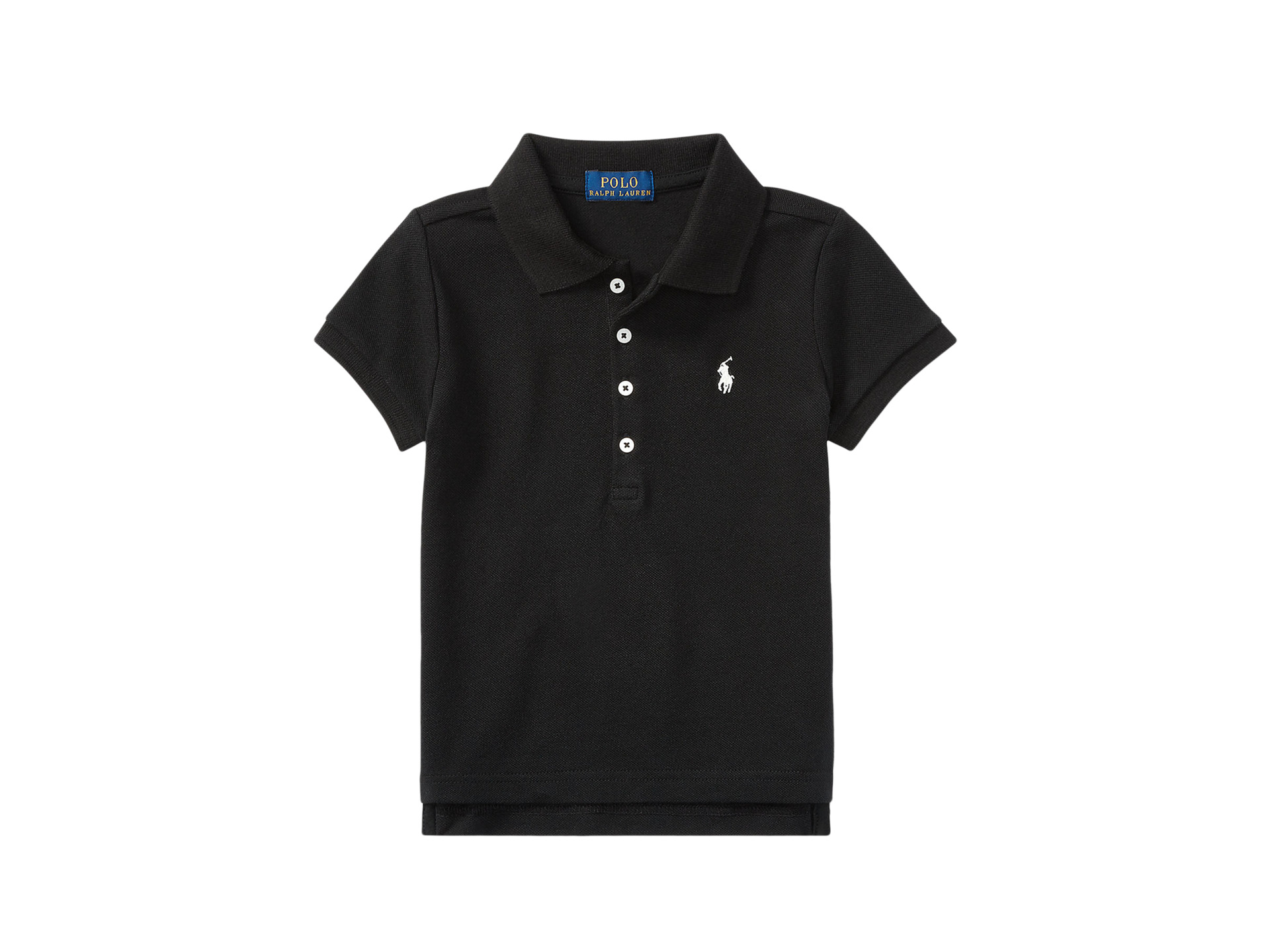 Polo ralph lauren kids short sleeve mesh polo shirt for Ralph lauren kids
