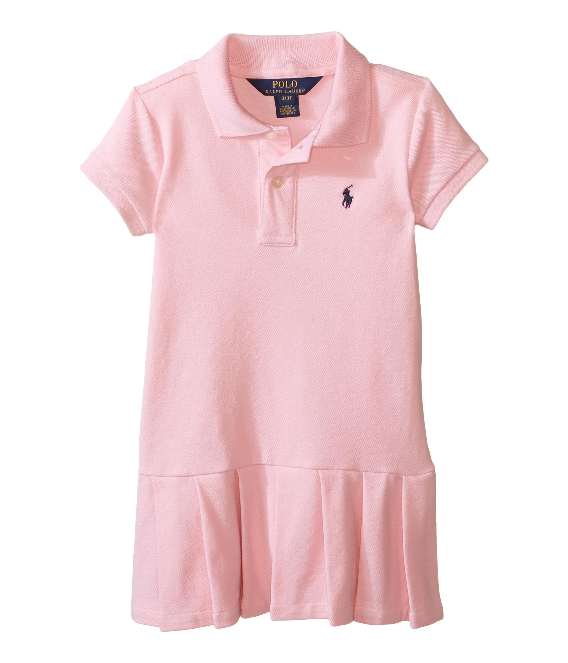 ... Stretch Mesh Polo Dress (Toddler) - Zappos.com Free Shipping BOTH Ways