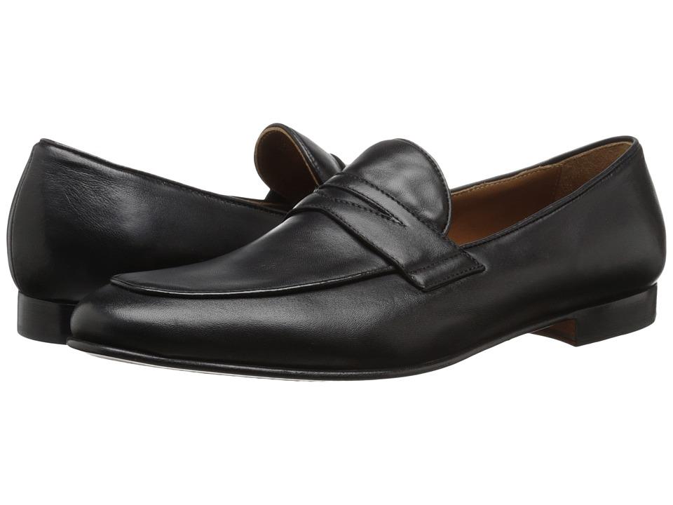 Bruno Magli Rico Black Leather Mens Shoes
