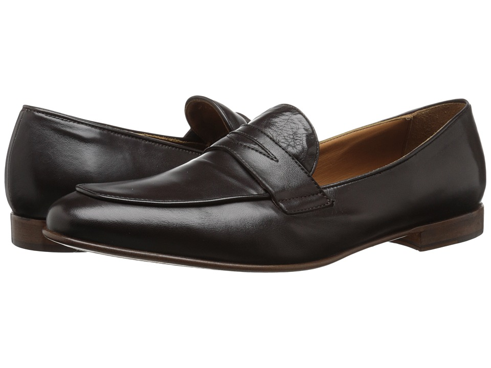 Bruno Magli Rico Dark Brown Leather Mens Shoes