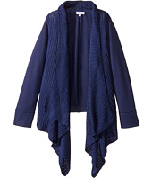 Splendid Littles - Sweater Knit French Terry Mix Wrap (Big Kids)
