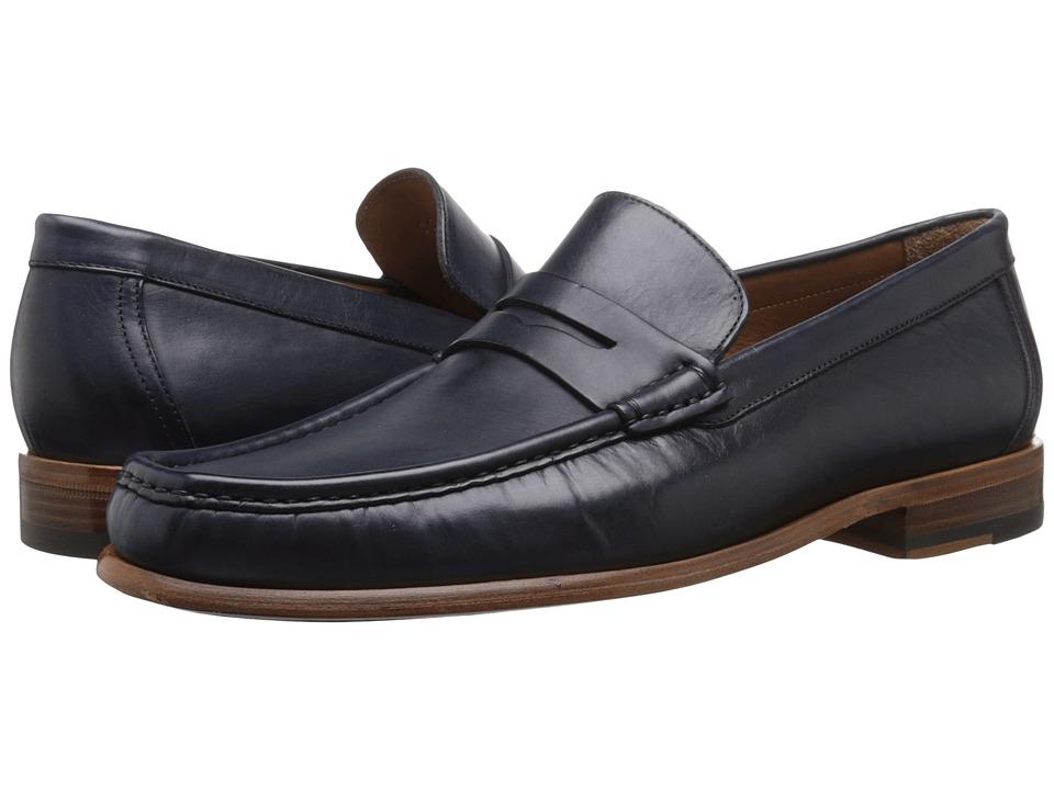 Bruno Magli Bricco Navy Mens Shoes