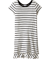 Splendid Littles - Yarn-Dye Long Side Slit Tee (Big Kids)