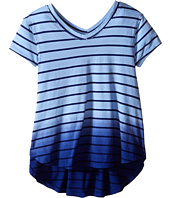 Splendid Littles - Dip-Dye Drapey Twist Tee (Big Kids)