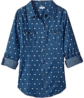 Splendid Littles - Dotted Denim Shirt (Big Kids)