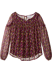 Splendid Littles - Print Crinkle Chiffon Top (Big Kids)
