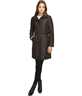 Cole Haan - Italian Jacquard Genevieve Weave Coat