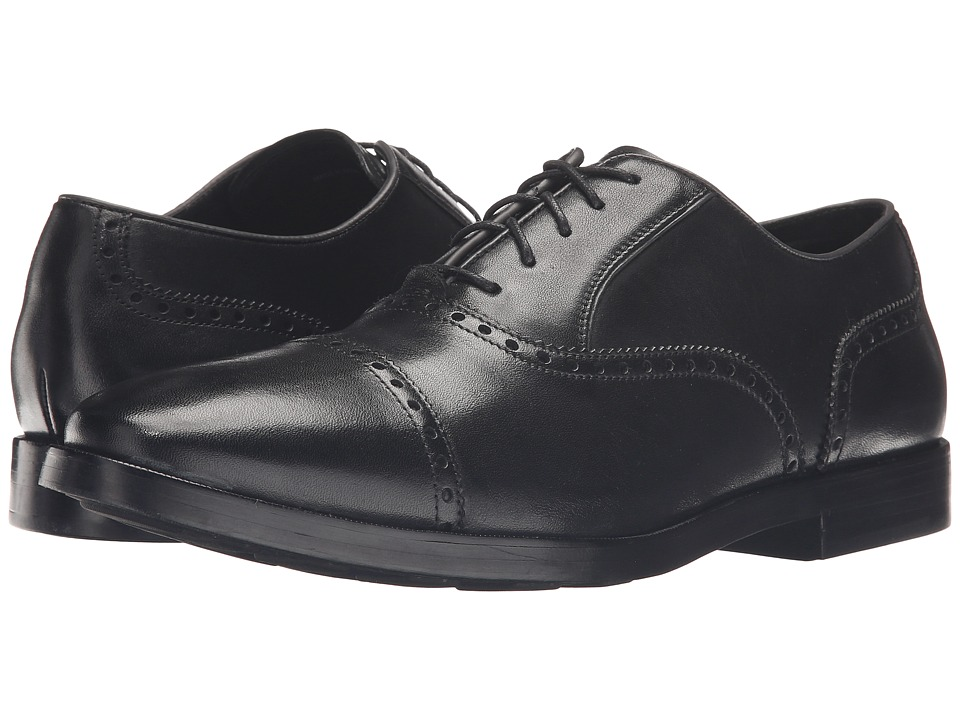 Cole Haan - Hamilton Grand Cap Oxford (Black) Mens Lace up casual Shoes
